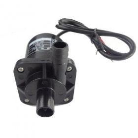MISOL 6V-12V DC Micro pump Circulation system pump hot water pump Brushless Pump, SWH-SWP-A40-1