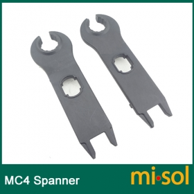 MISOL 1 pair of MC4 connector tool spanners/wrench, for solar panel
