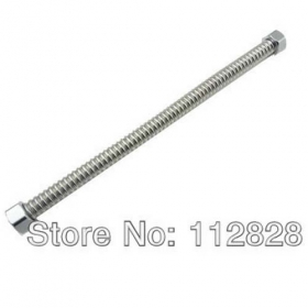 "MISOL 10 PCS OF 40cm 1/2""Corrugated Flexible hose Stainless Steel Tubing Pipe Piping"