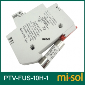 MISOL/10 units of PV solar fuse 10a 1000VDC fusible 10x38 gPV, with holder