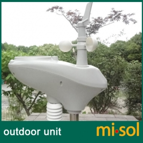 MISOL/outdoor sensor (spare part) for weather station wireless 433Mhz